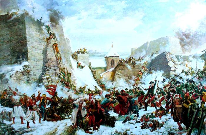 Взятие крепости Очаков