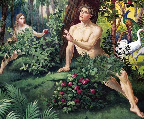 Адам и Ева. Грехопадение