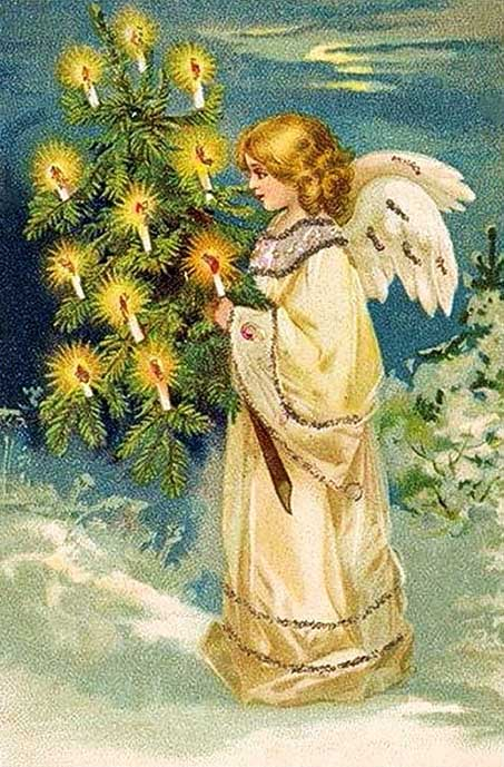 Ангел. Рождественская елка
