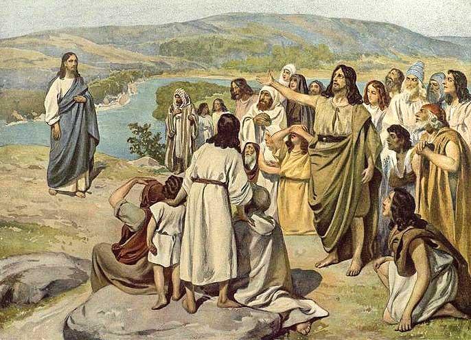 Христос на Иордане