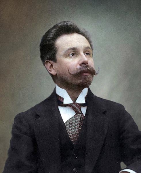 Композитор Александр Скрябин