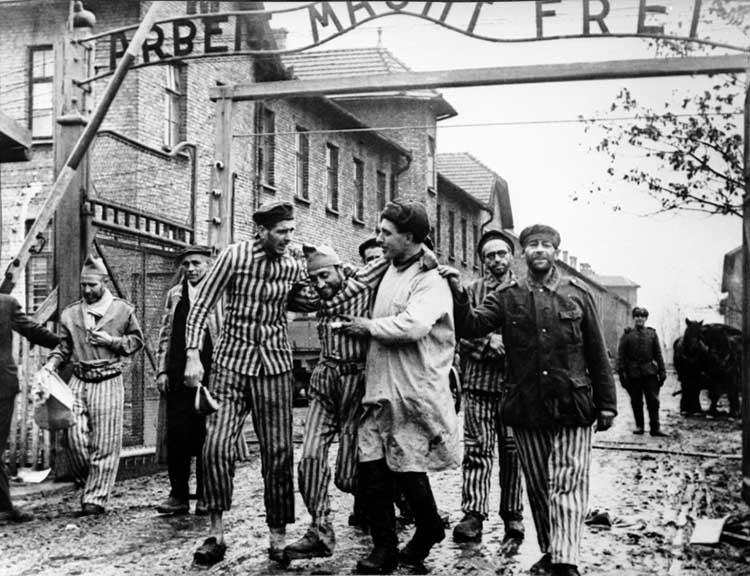 Освобождение узников Освенцима