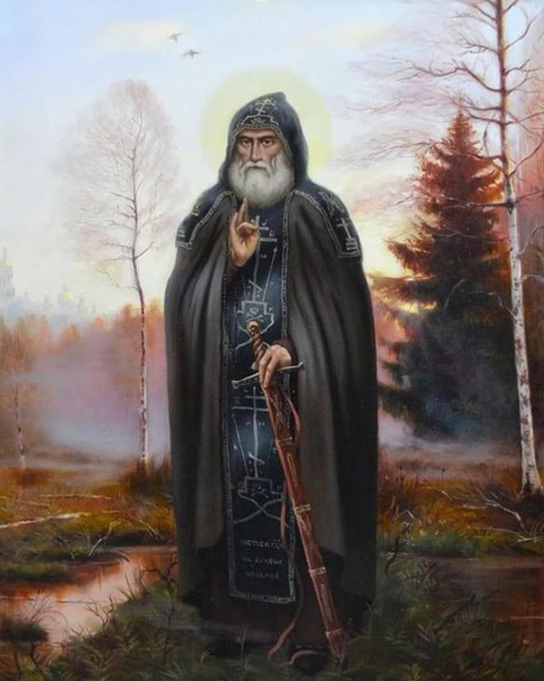 Прп. Илья Муромец Печерский