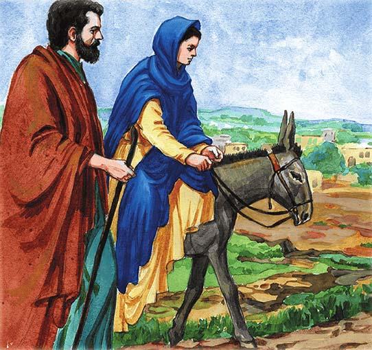 Путешествие Иосифа и Марии в Вифлеем