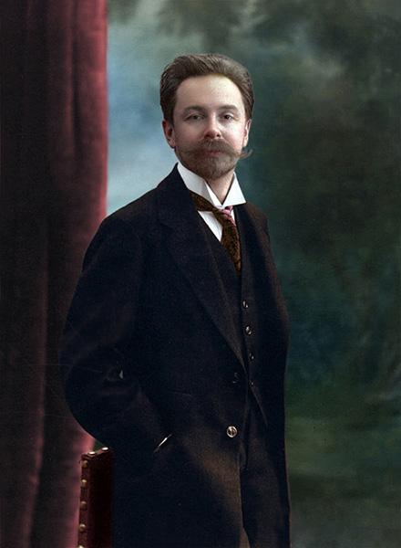 Русский композитор Александр Скрябин