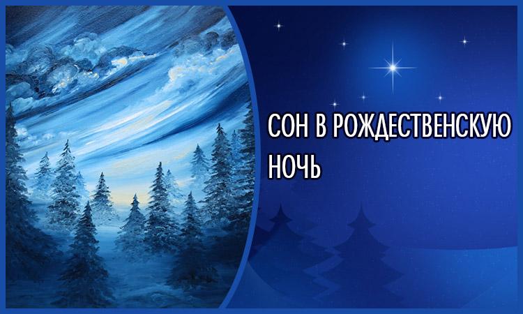 Сон в Рождественскую ночь