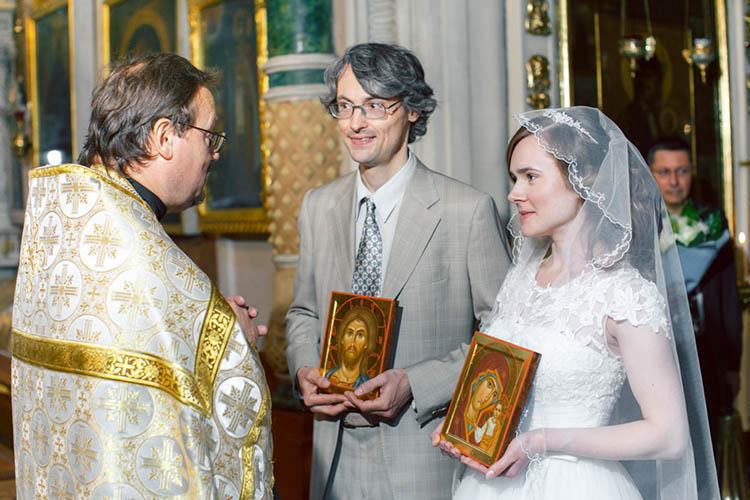 Венчание, брак. Пред священником