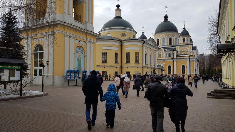 В Покровский монастырь 16 февраля 2020