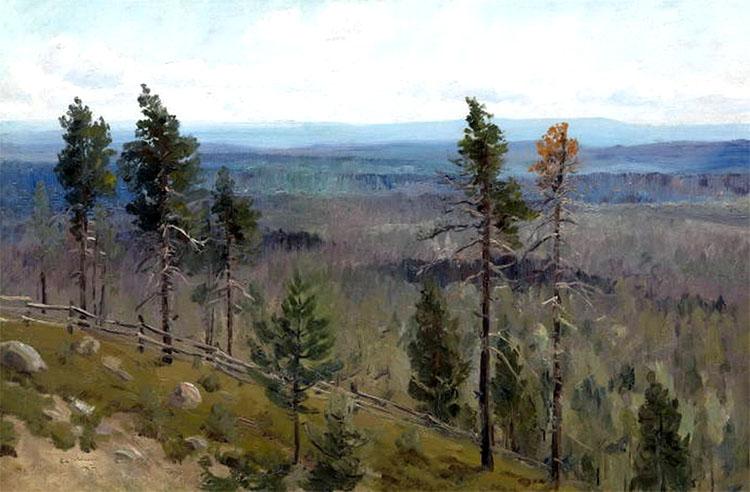 Пейзаж (Алексей Денисов-Уральский)
