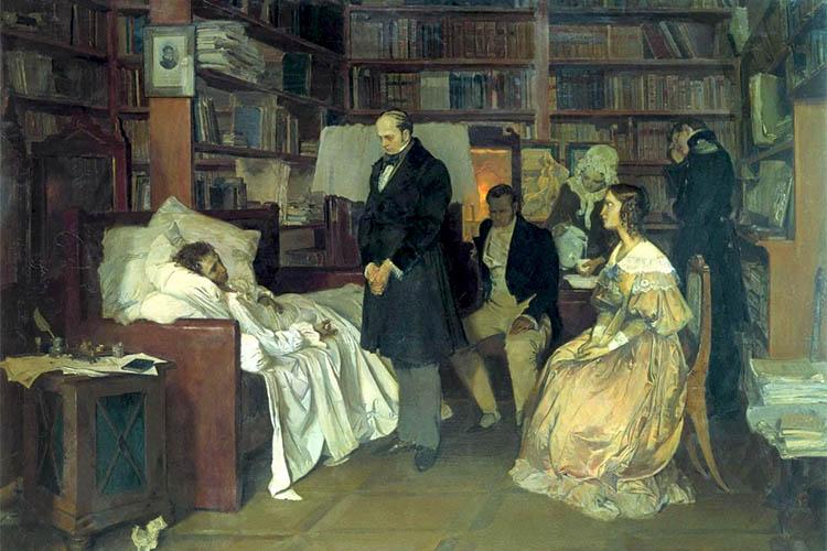 Последние часы жизни Пушкина