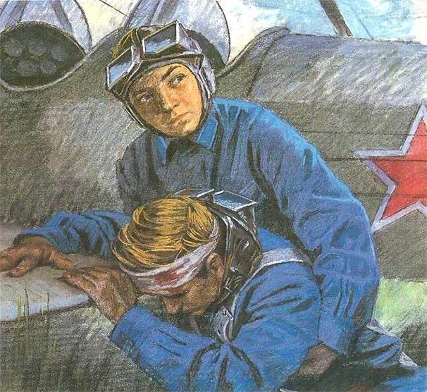 Самый юный летчик Аркадий Каманин