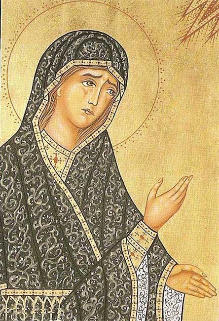 Святая праведная Моника, мать блаженного Августина