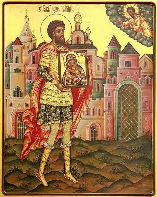 Великомученик Федор Стратилат