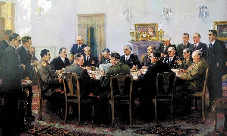 Ялтинская конференция союзных держав