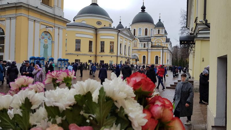 Покровский монастырь 8 марта 2020