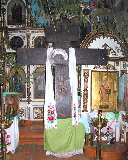Чудотворный Петъяльский Крест