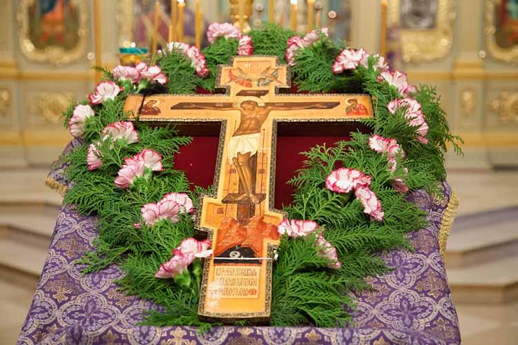 Крест на аналое