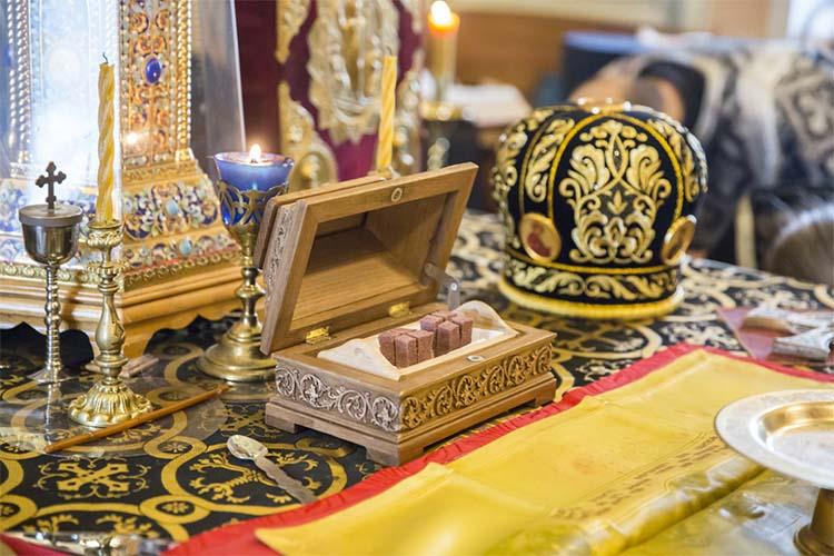 Литургия Преждеосвященных Даров в храме