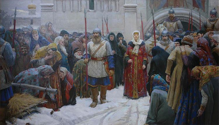Марфа-посадница или покорение Новгорода
