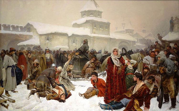 Марфа Посадница. Уничтожение новгородского веча