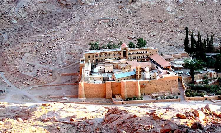Монастырь Святой Екатерины на горе Синай