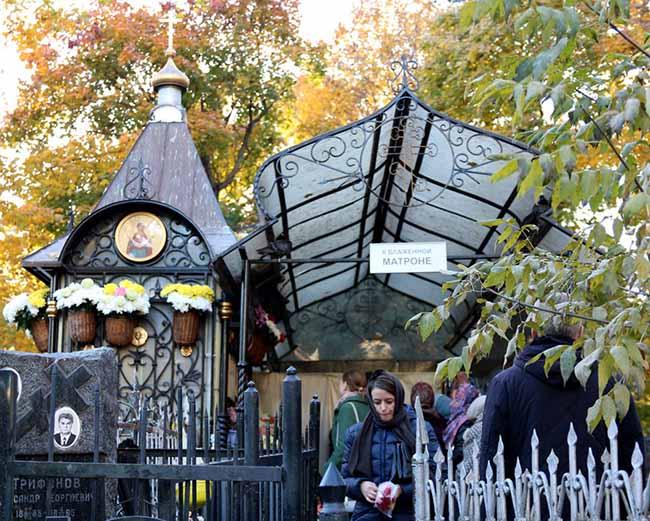 На Даниловском кладбище