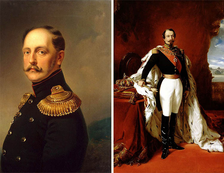 Николай I и Наполеон III