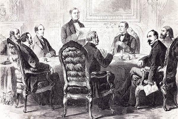 Подписание Парижского договора