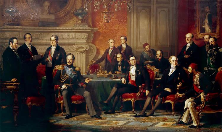 Подписание Парижского мирного договора
