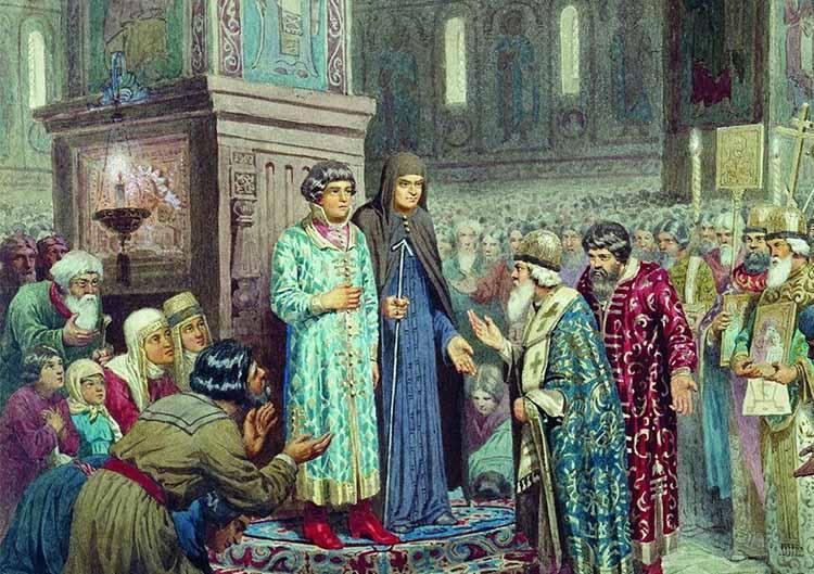 Призвание на царство Михаила Федоровича Романова