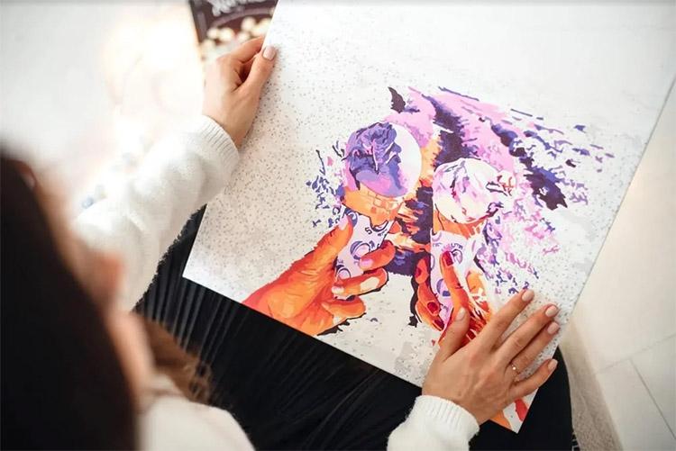 Раскрашивание картины