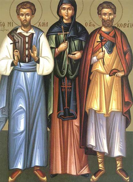 Святые мученики Кодрат Никомидийский и иже с ним