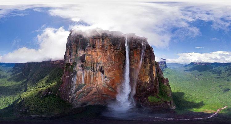 Водопад Чурун-Меру