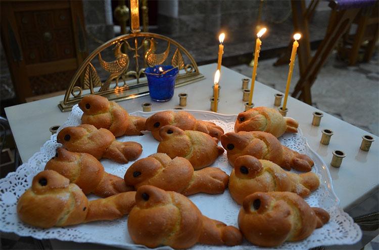 Жаворонки в день памяти Севастийских мучеников