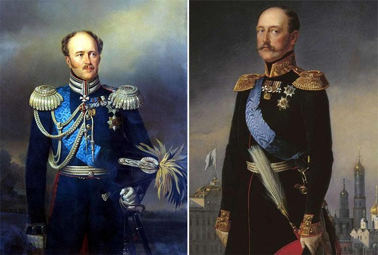 Александр Христофорович Бенкендорф и государь Николай I