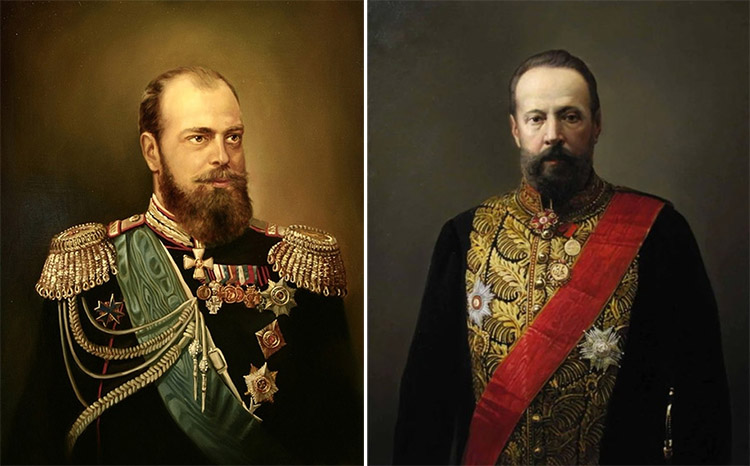 Александр III и Сергей Витте