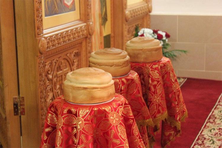 Артосы в храме