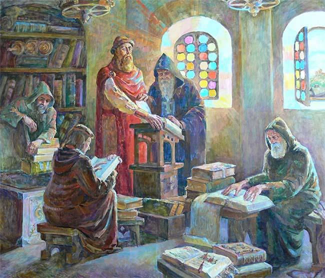 Библиотека на Руси
