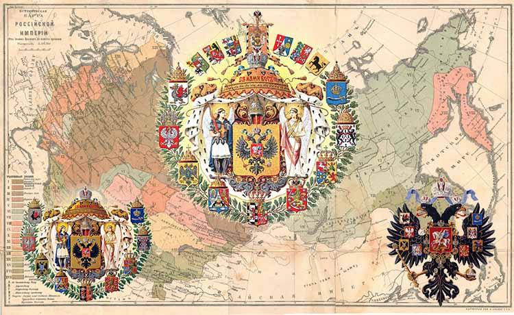 Большой, Средний и Малый герб