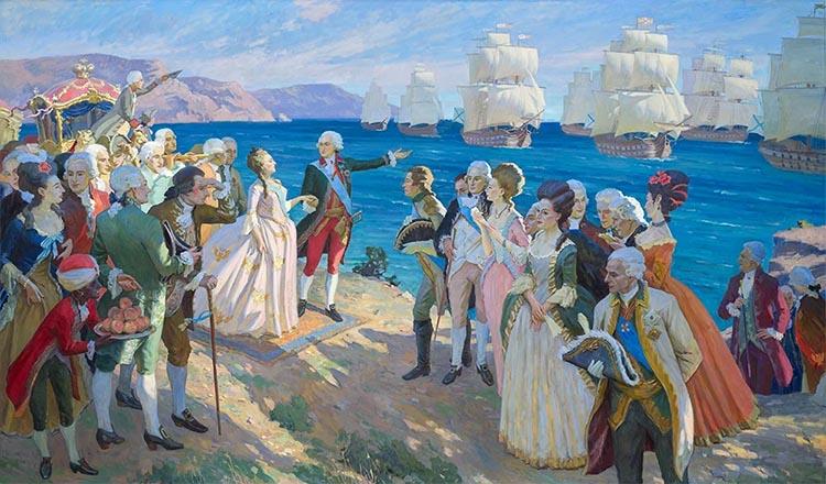 Екатерина Великая в Крыму