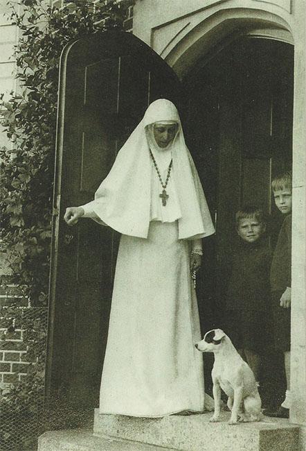 Елизавета Федоровна в Марфо-Мариинской обители