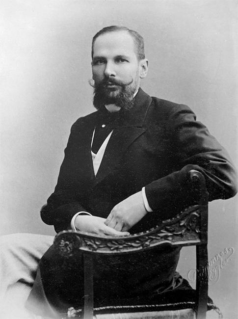 Гродненский губернатор Столыпин в 1902 году
