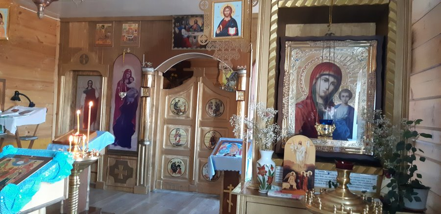 Казанский храм. Казанская икона Божией Матери