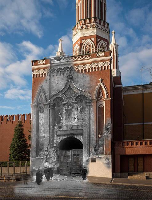Никольские ворота Кремля