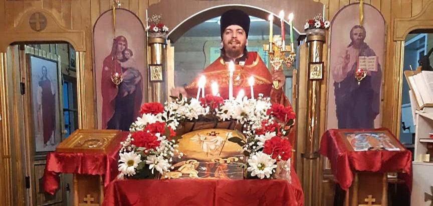 Пасхальное Богослужение. Священник Димитрий