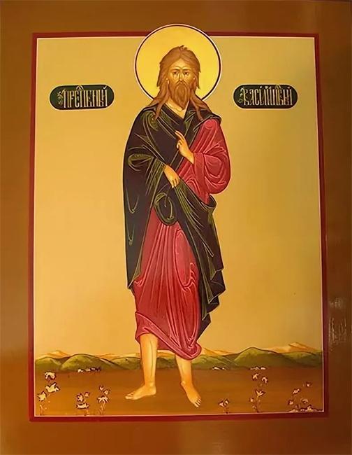 Преподобный Василий Новый Константинопольский