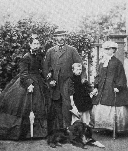 Сергей Александрович с родителями — Александром II и Марией Александровной