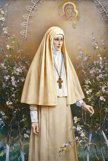 Сестра Марфо-Мариинской обители Елизавета Федоровна