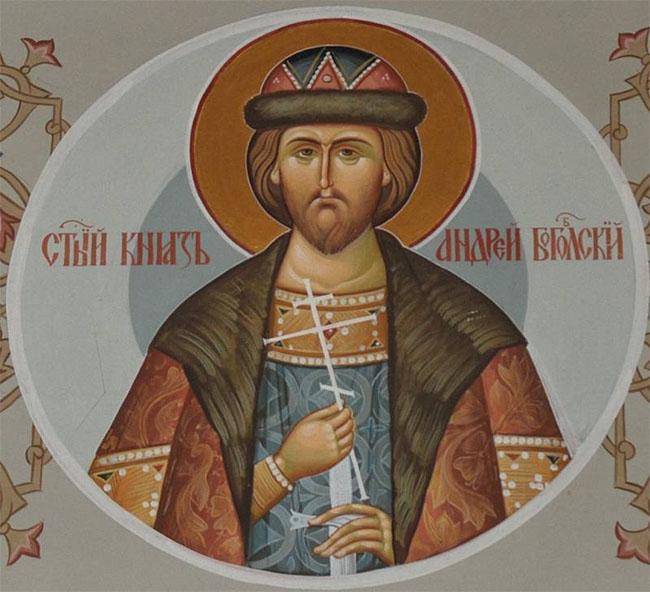 Святой князь Андрей Боголюбский