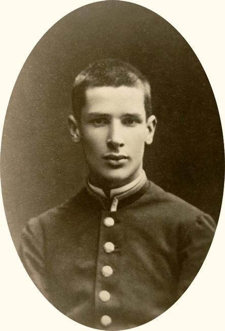 Ученик Виленской гимназии Петр Столыпин, 1876 год
